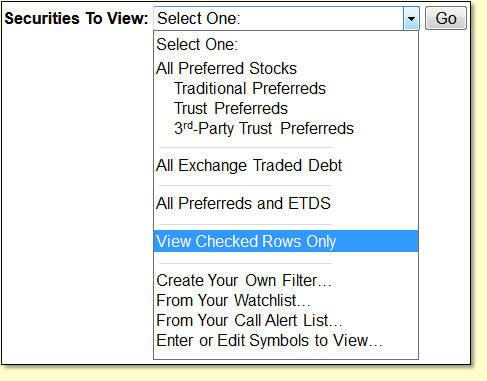 Preferred Stock Notification Service Database Features